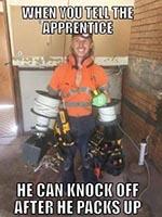 Apprentice knock off meme